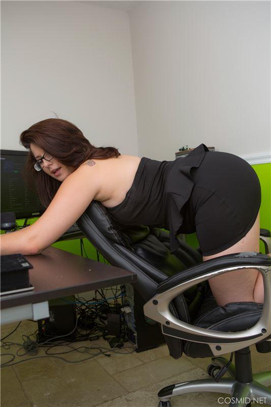 Секс с толстой секретаршей