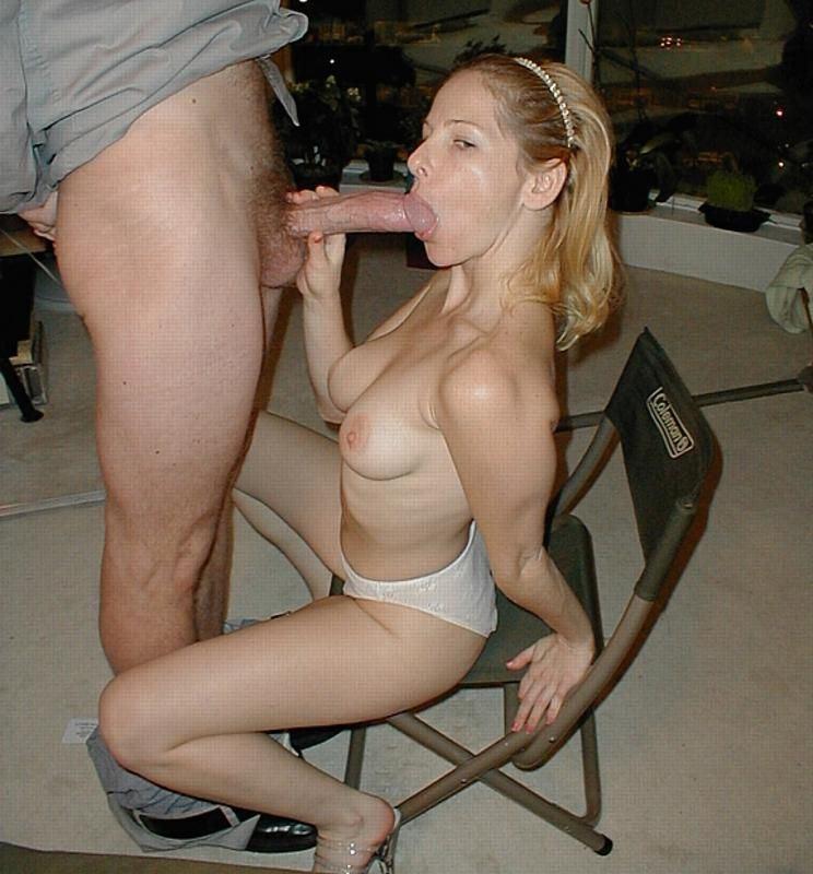 Жена делает мужу минет порно