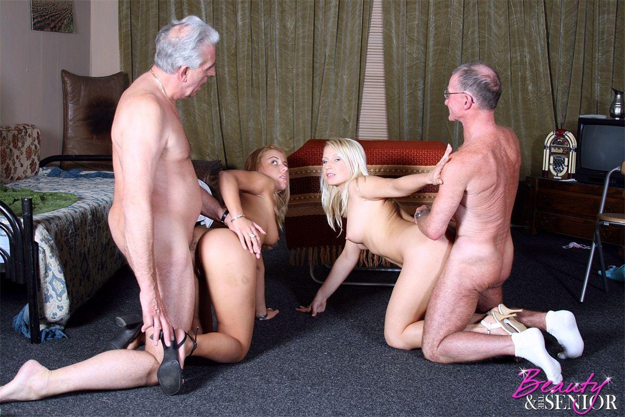 Секс молодой с стариками 8 фотография