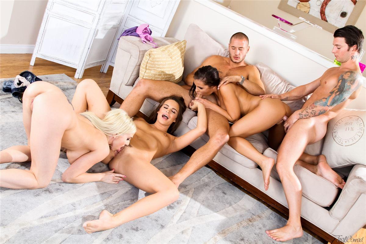 Порно оргии мужа