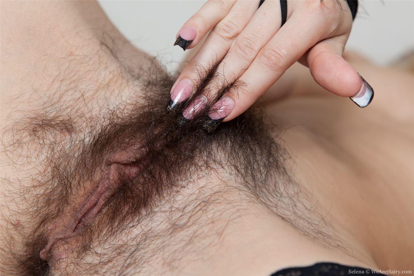 Фото сильно заросшие вагины 26 фотография