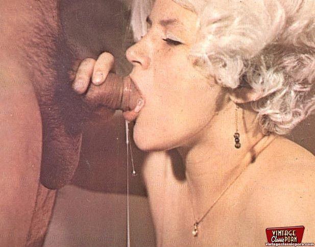 зрелые ретро порно фото